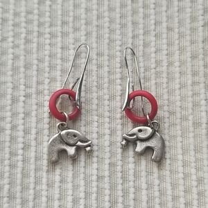 Accessories - Earrings Bundle (3 pairs) Cute Elephant/Crystal